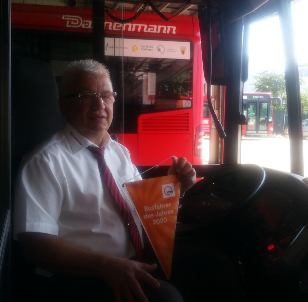 Marco Kalubba ist Busfahrer des Jahres 2020